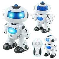 Juguete RC Robots caminando y hablando inglés perro robot eléctrico juguetes electrónicos de Control remoto robot
