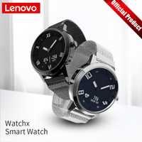 Lenovo Watch X reloj inteligente mecánico pantalla OLED reloj inteligente de cristal de zafiro 45 días de espera 80 m impermeable Monitor de ritmo cardíaco