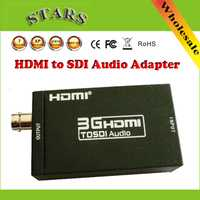 Nuevo mini 3G 1080 p HDMI a SDI SD-SDI HD-SDI 3G-SDI HD Adaptador convertidor de vídeo BNC 2.970 Gbit/ s adaptador conector, envío libre