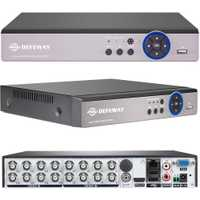 Defeway Full HD 1080N cctv dvr 16CH ONVIF H.264 HDMI video grabadora de red 2 SATA grabación 720 p vigilancia dvr
