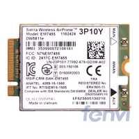 Probado Sierra EM7455 DW5811e 4G LTE WWAN GOBI6000 3P10Y Qualcomm LTE 4G módulo ngff HSDPA/UMTS/ HSPA + GPRS/EDGE/GPS M.2 tarjeta mini