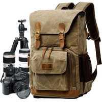 M174 viaje fotografía Nacional Geográfica NG A5290 Mochila GRANDE SLR Cámara bolsa de lona resistente al agua 15 pulgadas portátil foto bolsa