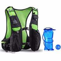 AONIJIE 10L mochila para correr carreras de hidratación Paquete de deporte al aire libre senderismo correr mochila de hidratación bolsa de agua