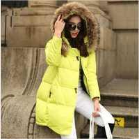 Chaqueta de abrigo chaqueta de invierno con capucha para mujer parkas mujer 2018 las nuevas mujeres de la chaqueta de Cuello de piel ropa de mujer plus tamaño 5XL