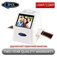 Portátil 35mm negativo escáner de diapositivas escáner de película Resolución 22 Mega píxeles 110 135 126KPK película Digital convertidor con 2,4