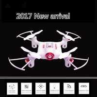 Pre-pedido 2017 Nuevo X20 MINI RC Dron 2,4G 4CH modo sin cabeza 360 grados doble rollo RC Quadcopter juguete divertido mejor regalo para niños