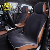 2 piezas envío gratis cubiertas de asiento de coche de dirección de la rueda renault logan de la piel no tapa de piel sintética negro Amarillo Blanco beige gris