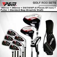 PGM. Hombres de con conjunto completo bolsa clubes conductor completa cabeza Putters Honma hierro Top-venta Oem Golf 7 cuña marca