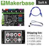 Kit de controlador de impresora 3d MKS Gen_L y MKS TFT32