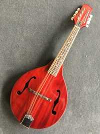 La mandolina M1 étnicas no occidentales instrumentos musicales mandolina al por mayor mandolina guitarra color Rojo