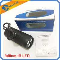 CCTV llenar de luz invisible en la noche 940nm IR LED 4,5 W Video de vigilancia de la visión nocturna infrarroja de ayudar lámpara LED para cámara de CCTV