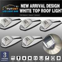 KEYECU 5 piezas taxi blanco de luz de techo LED para camiones camión Kenworth directa de repuesto para camión y remolque