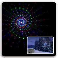 Navidad luces láser en movimiento RGB estrellas 20 patrones proyector duchas al aire libre impermeable IP65 remoto RF para Navidad de vacaciones