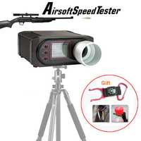X3200 tiroteo cronógrafo Airsoft aire pistola bb Chrono chrony velocidad de la bala de para la caza de 7-0001