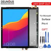 Nouveau pour Microsoft Surface Pro 4 V1.0 1724 LTN123YL01-001 V1.0 écran lcd écran tactile assemblage livraison gratuite