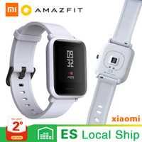 [Version mondiale] Xiaomi Huami Amazfit Bip jeunes hommes femmes montre intelligente GPS Bluetooth fréquence cardiaque pour tous les téléphones PK pour Apple Watch