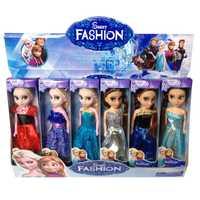 La segunda generación de muñecas Barbie la princesa de la princesa congelada el nuevo anime de juguete para niños para juguetes pasatiempos