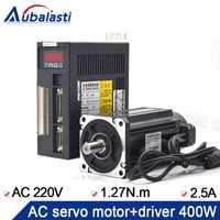 400 W ac servo motor 60ST-M01330 + ac servo motor 220 V 2.5A 400 W