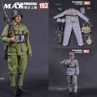 1/6 ropa de hombre Solider Militar Nacional Revolucionario ejército 87th división en NanJing conjunto de ropa modelo para 12