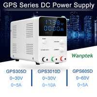 Mini Digital ajustable DC laboratorio interruptor fuente de alimentación multifunción LED laboratorio fuente de alimentación de banco