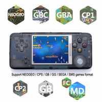 Zorx portátil Mini clásico Retro consola videojuegos reproductores de música incorporado 818 infancia juegos para Snes 16 Bit