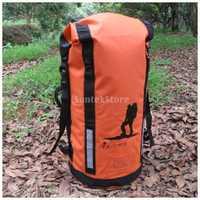 45 l de alta resistencia de PVC impermeable bolsa seca mochila senderismo mochila deportes acuáticos Kayak bote paquete flotante