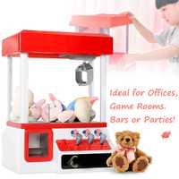 Juego de máquinas de premios para niños de juguete de carnaval estilo Vending Arcade garra Candy Grabber juegos operados con monedas
