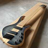 Caliente 6 cuerdas. Buen estilo. Buena voz. Eléctrica bazz Guitarras envío libre, Real Guitarras foto
