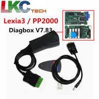 Profesional Lexia3 PP2000 Lite Diagbox V7.83 PSA XS evolución Ci-troen/Pe-ugeot LEXIA-3 FW 921815C Lexia 3
