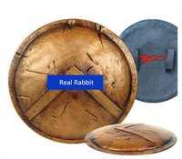[Divertido] de Metal escala 1:1 61 cm 300 Sparta guerreros soldado armas escudo modelo para niños adultos cosplay juguete colección regalo