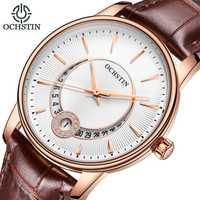 Relojes de mujer marca ocstin moda cuarzo-reloj de pulsera de mujer relojes mujer vestido de mujer reloj de negocios montre mujer