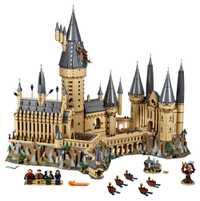 En stock Lepin 16060 Harry película Potter Hogwarts Castillo juegos Model Building Kits bloques para niños Compatible Legoing 71043