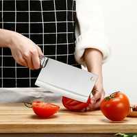 De acero inoxidable medio cuchillo Chef carnicero cortar cuchillo pesado carne Cleaver muy fuerte y duradero cuchillo de cocina