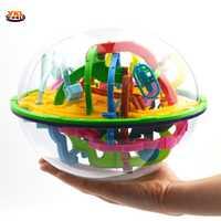 2019 299 étapes 3D labyrinthe balle magique Intellect Puzzle balle jouet Intelligence défi jeux pour enfants équilibre entraînement jouet (S8