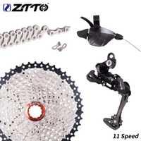 ZTTO 1*11 grupos de 11 velocidades palanca de cambio grupo para bicicleta de montaña MTB 11 velocidad 1x11 kit 46 T 42 t 40 t 11 s Cassette