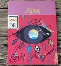 Vixx autografiada firmado con pluma 2016 quinto álbum Zelos CD + crystal photobook + no poster 05.2016