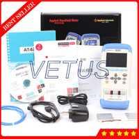 AT4208 Digital 8-canal de termómetro de temperatura Meter Recorder registrador J/K/T/E/S /N/B USB registrador de datos de temperatura