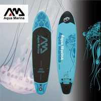 AQUA MARINA 11 pies VAPOR inflable junta sup levántese el tablero de paleta inflable tabla de surf tabla de surf nueva SPK2