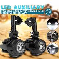 Feux de brouillard de moto pour BMW R1200GS ADV F800GS F700GS F650GS K1600 LED phare antibrouillard auxiliaire assemblé 40W