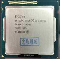 Procesador Intel Xeon E3-1230 v2 E3 1230 v2 de la computadora de la PC de escritorio CPU Quad-Core procesador LGA1155 Desktop CPU