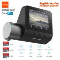 Nuevo Xiaomi 70mai Dash Cam Pro GPS IMX335 WIFI voz Control inteligente versión de la noche DVR HD 1944 P 140FOV Coche cam 24 H Monitor de aparcamiento