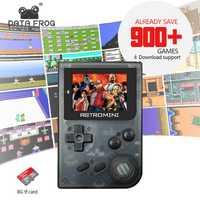 Los datos de la rana de 32Bit consola de juego estilo Retro Mini juego jugador incorporado para GBA/NEO clásico juegos regalo para niño