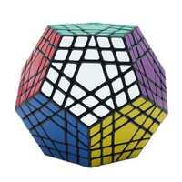 5x5 Megaminx cube Gigaminx Magic Cube puzle blanco y negro 5x5 Speed Cube juego de aprendizaje y juguetes educativos Cubo mágico