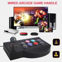 PXN-0082 cableado Arcade joystick Gamepads juego para PS3 ps4 PC para Xbox uno