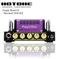 Hotone Nano Legacy Series Purple Wind 5-Watt Compact Guitar Amplifier Head inspirado en Plexi Super lead 1959