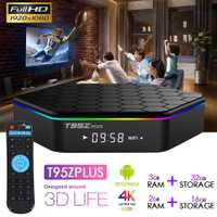 Original T95Z Plus caja de TV inteligente 2 GB/16 GB 3 GB/32 GB Amlogic S912 Octa Core android 6,0 TVBOX 2,4G/5 GHz WiFi BT4.0 4 K Set Top Box