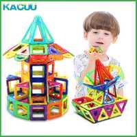 Tamaño grande magnética Blocs técnica plástico Blocs niña y niño magnética Blocs constructor Blocs Asamblea Juguetes para niños