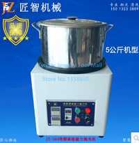 Nueva llegada de gran capacidad 5 kg pieza joyería que hace la máquina vaso magnético oro plata pulido máquina 1 unid/lote