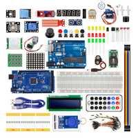 Starter Kit para Arduino UNO R3 y Mega2560 con Sensor Moudle 1602 led LCD servomotor relé aprendizaje básico suite