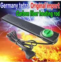 Alemania Tetra Original de fibra de carbono varilla de calefacción a prueba de explosiones para tanque de peces calentador sumergible de alta precisión para 20L-400L